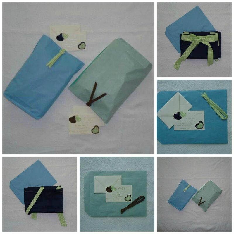 Pochette cadeau et carte