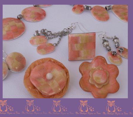 collection pastel orangé 2