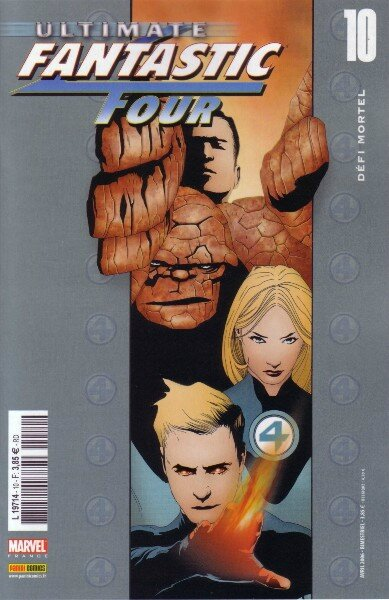 ultimate fantastic four 10