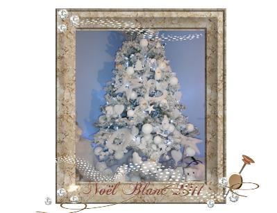 noel blanc 2011 sapin
