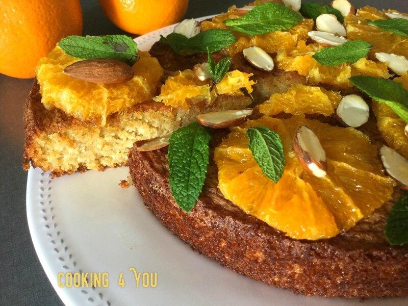 gâteau Péruvien au quinoa et à l'orange 018
