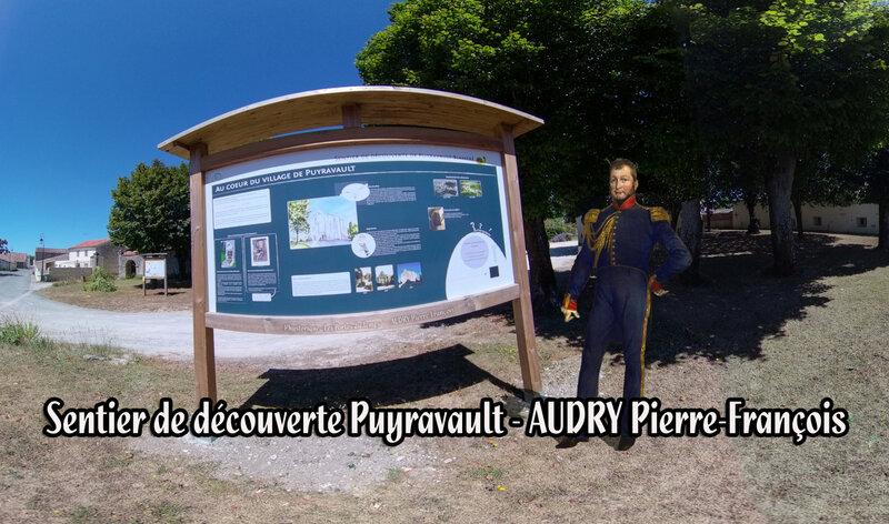 Sentier de découverte Puyravault AUDRY Pierre-François