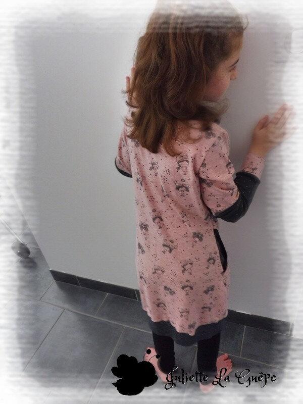 vivax rose petites filles et grise4