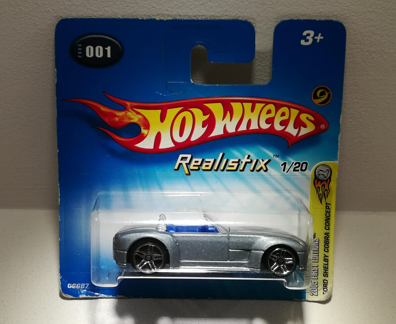 Ford Shelby Cobra Concept (Hotwheels)