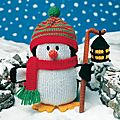 Pingouin - knitted animals - jean greenhowe