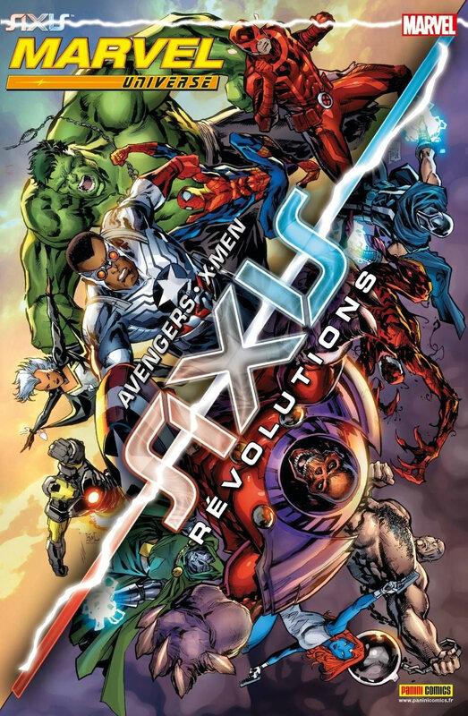 marvel universe V3 12 axis révolutions
