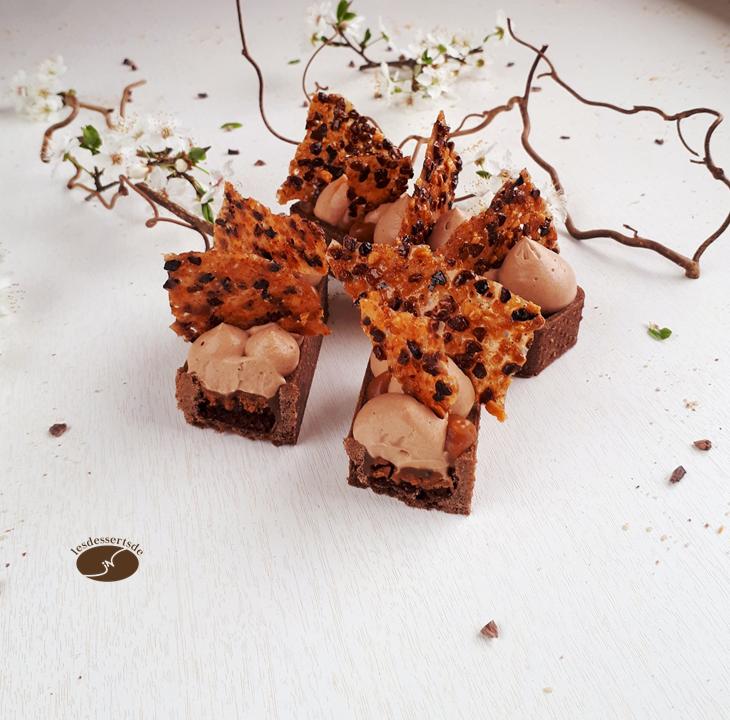 Tartelette chocolat caramel 5