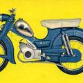 Programme zündapp 1964 /les combinettes