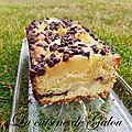 Cake au poires et aux pepites de chocolat