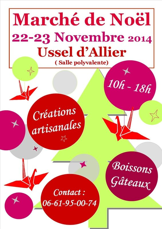 affiche marche noel ussel 2014