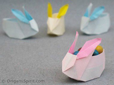 paques origami