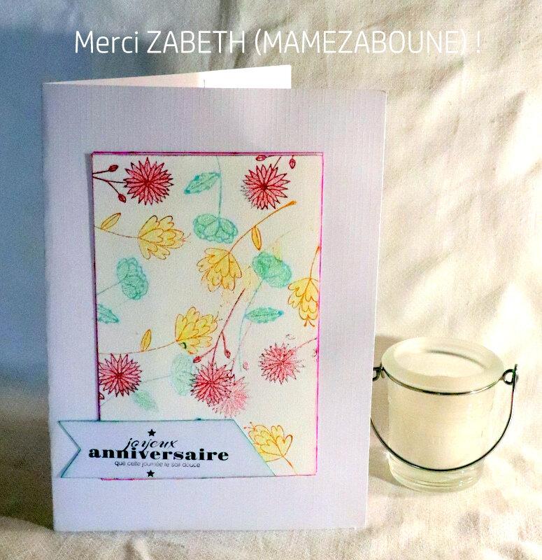ZABETH (C&S TS) - MAMEZABOUNE (AVC)