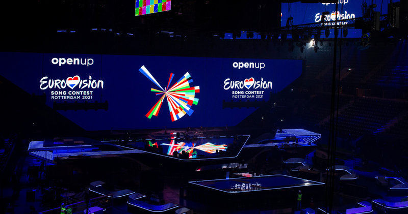 Eurovision 2021 scène finale