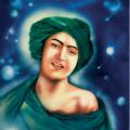 Un portrait iranien du jeune prophète mohammed