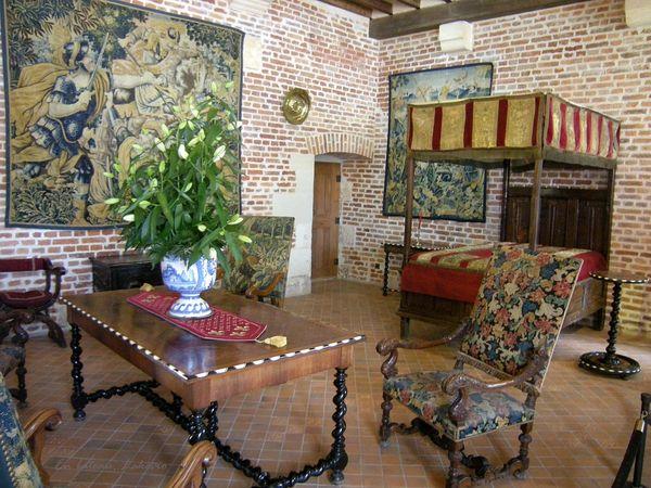 Clos Luce chambre Marguerite de Navarre