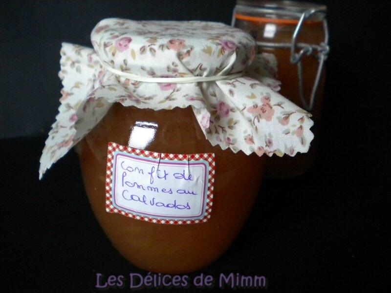 Confit de pommes au Calvados 2
