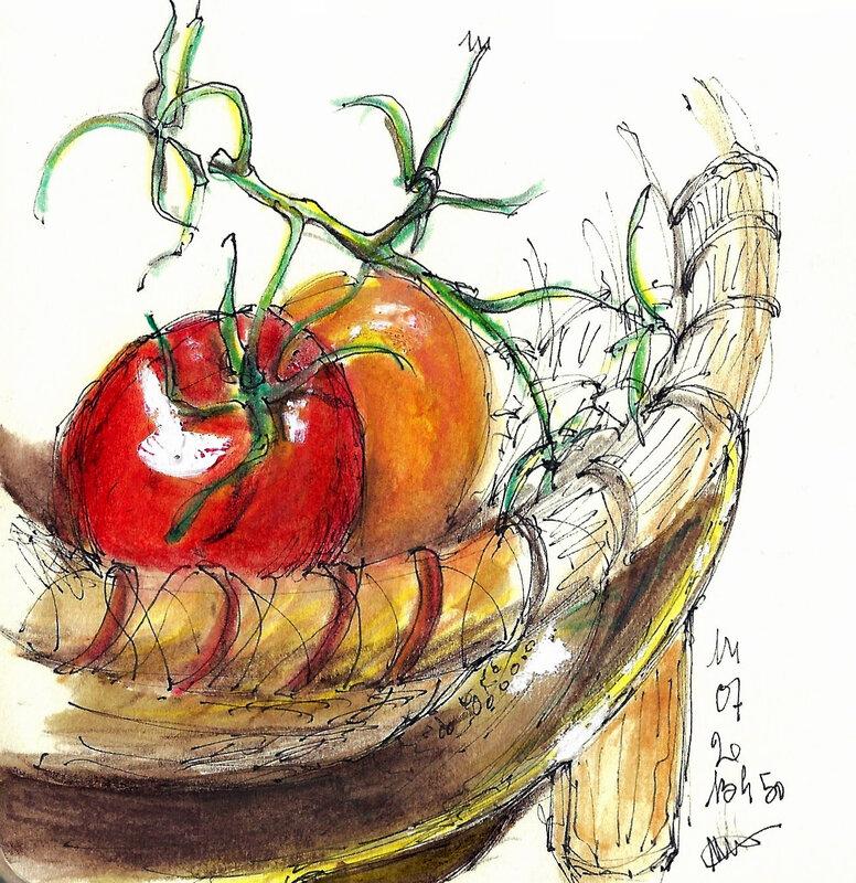 Tomate et orange 14 07 2020