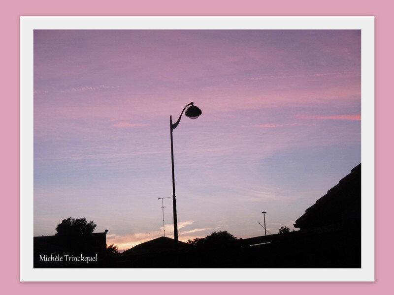 Lever de soleil et Montfort en Chalosse 131018
