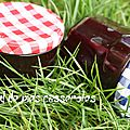 Confiture duo framboise/groseille