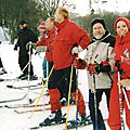 1er WE ski - Super Besse, janvier 2004.