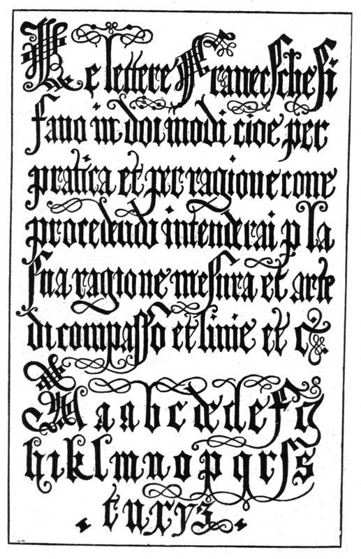 l'alphabet (majuscules) - l'association emily calligraphy