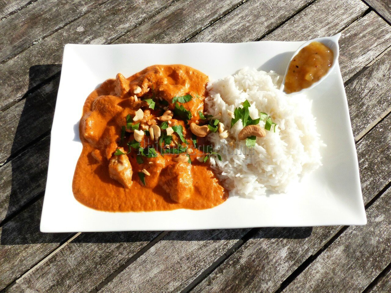 Butter chicken (recette indienne)