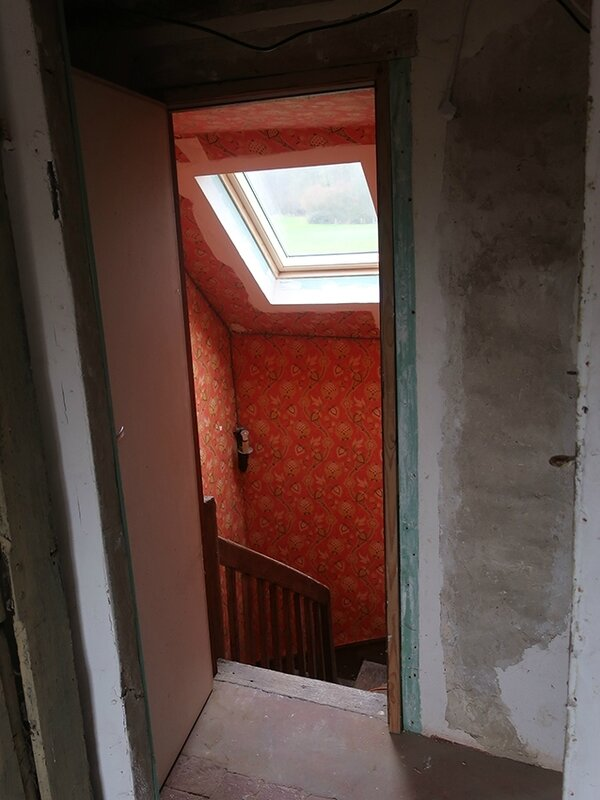 escalier a