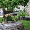 Fontaines, lavoirs et puits à saint jean de cole, en dordogne