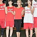 Jolin at adidas girls night in taipei