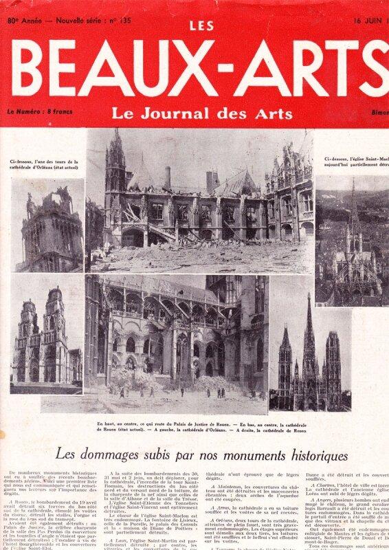 beaux-arts 1944