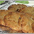 Cookies au chocolat blanc noisettes