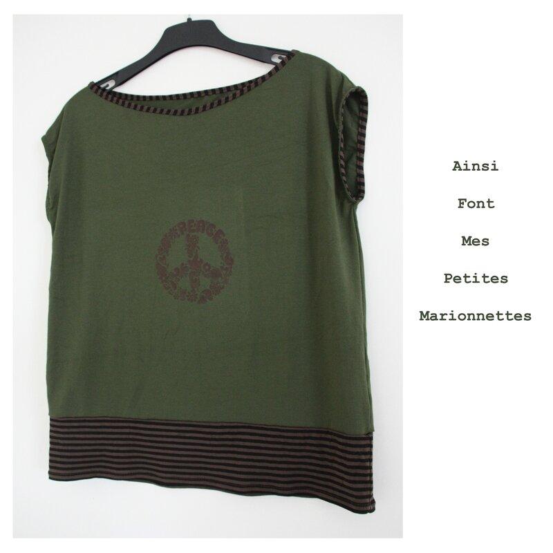 teeshirt peace 1