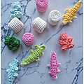 Assortiment de bonbons au crochet