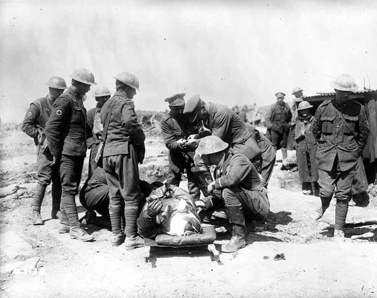 Vimy aide à un aviateur avr 1917