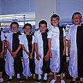 Fêtes d'écoles à précigné et sablé (sarthe) en juin 1993 (1)