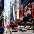 Arrivée à Time Square