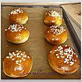 Petits pains à la fleur d'oranger