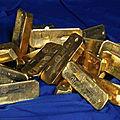 Lingots d'or mystique pour déborder la richesse dans votre vie