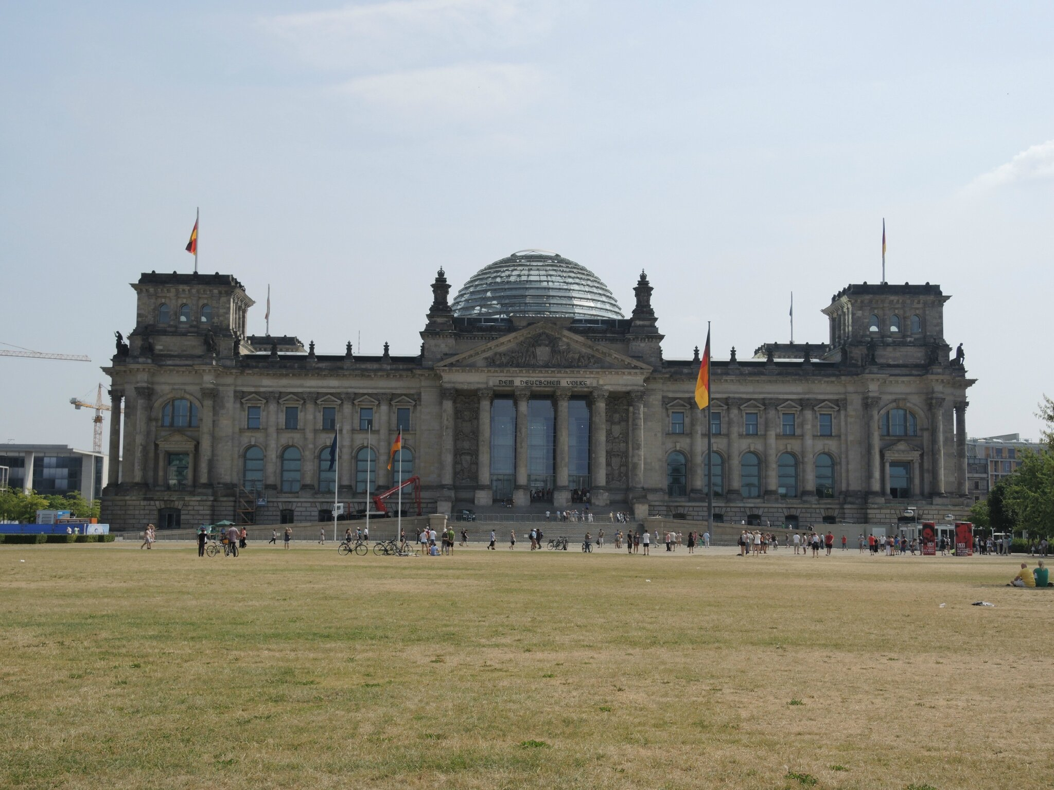 Berlin, le Reichstag (Allemagne)