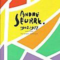 Enfin une brochure sur andré seurre, peintre verrier (1902-1977)