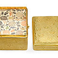 A tebako [cosmetic box], edo period, 17th century