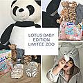 Lotus baby, une collection zoo pour l'été