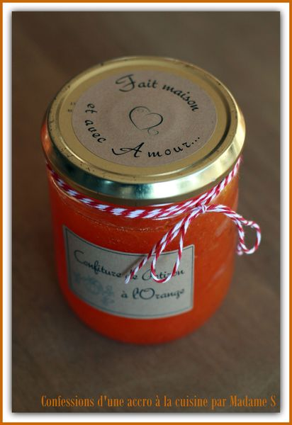Confiture potiron orange 008