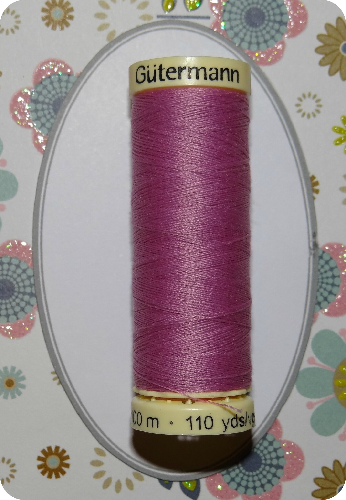 Fil couture rose Gutermann