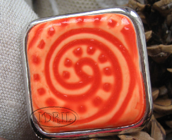 bague orange idril