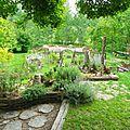 Un jardin tout neuf à larressingle...