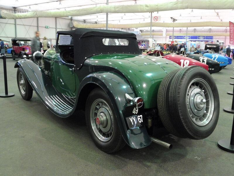 BUGATTI type 49 roadster Strasbourg (2)