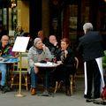 Terrasse à Saint-Germain des Prés.