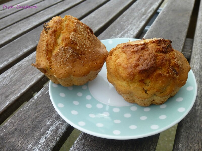 Muffins rhum raisin (16)