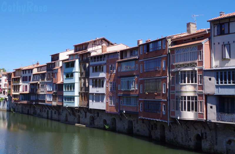 && maisons au bord de l'Agout (2)